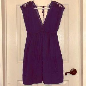 Zara Blue Dress with Pockets